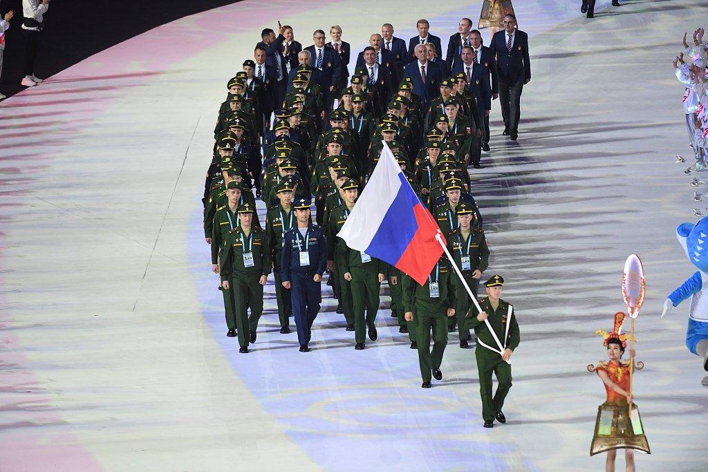 Сборная России получила второе место на Всемирных военных играх
