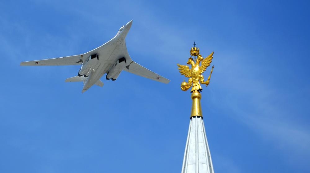 Американские F-35 не смогли догнать российские Ту-160 в небе