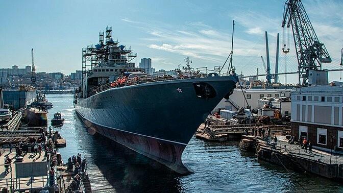 Фрегат «Маршал Шапошников» вышел в Японское море для ходовых испытаний