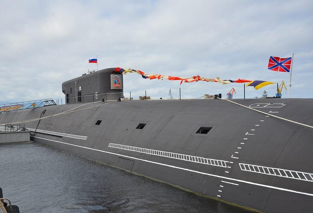 Новая атомная подлодка «Князь Владимир»