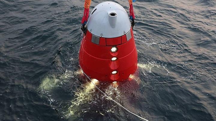 Российский глубоководный аппарат «Витязь» установил вымпел на дне Марианской впадины