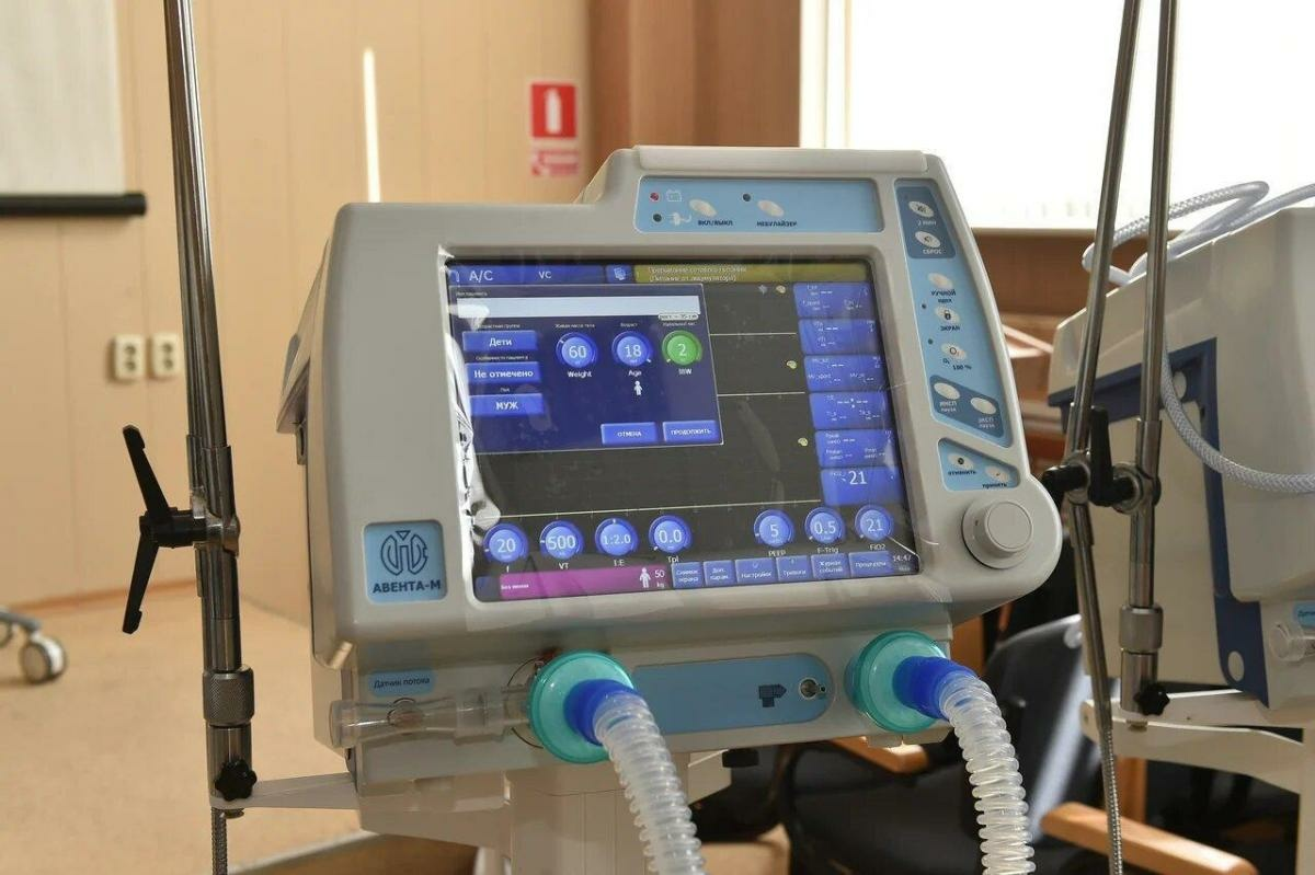 Россия поставила за рубеж 600 аппаратов искусственной вентиляции лёгких