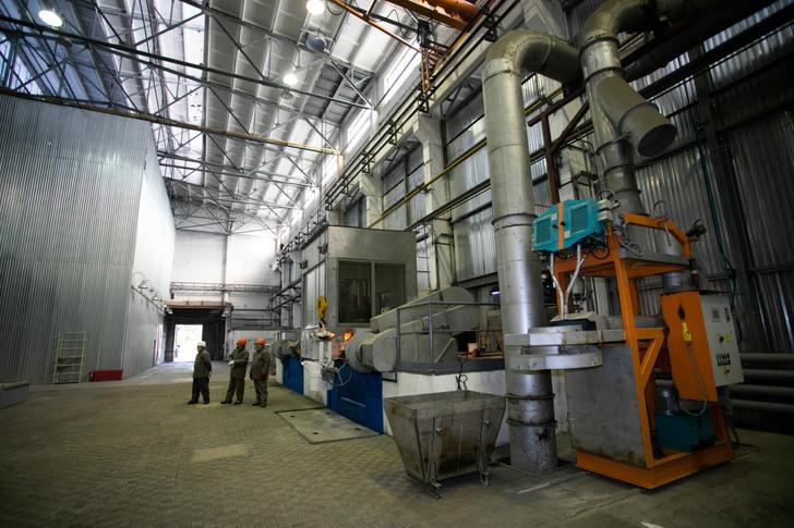 Наорском «Механическом заводе» вОренбургской области запустили новое производство
