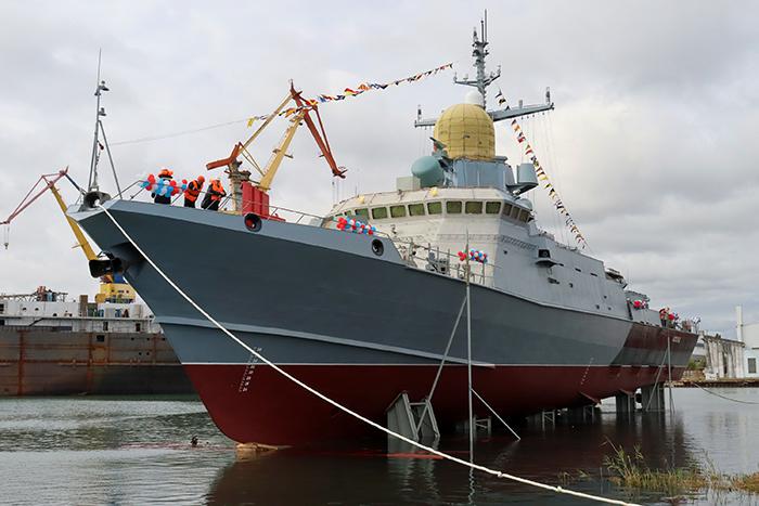 Российское судостроение в сентябре 2021 года